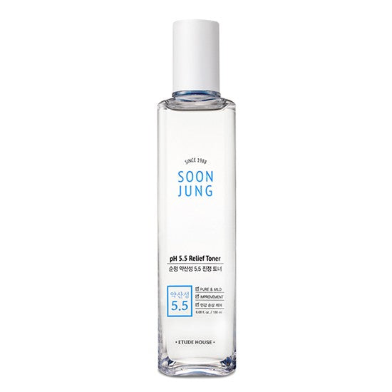 Etude House - SoonJung pH 5.5 Relief Toner 180ml