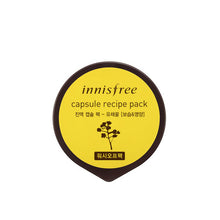 Load image into Gallery viewer, Innisfree - Capsule Recipe Mask Pack (4kinds)