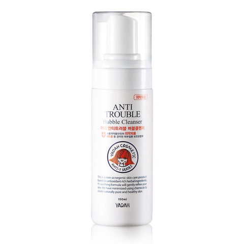 anti trouble bubble cleanser