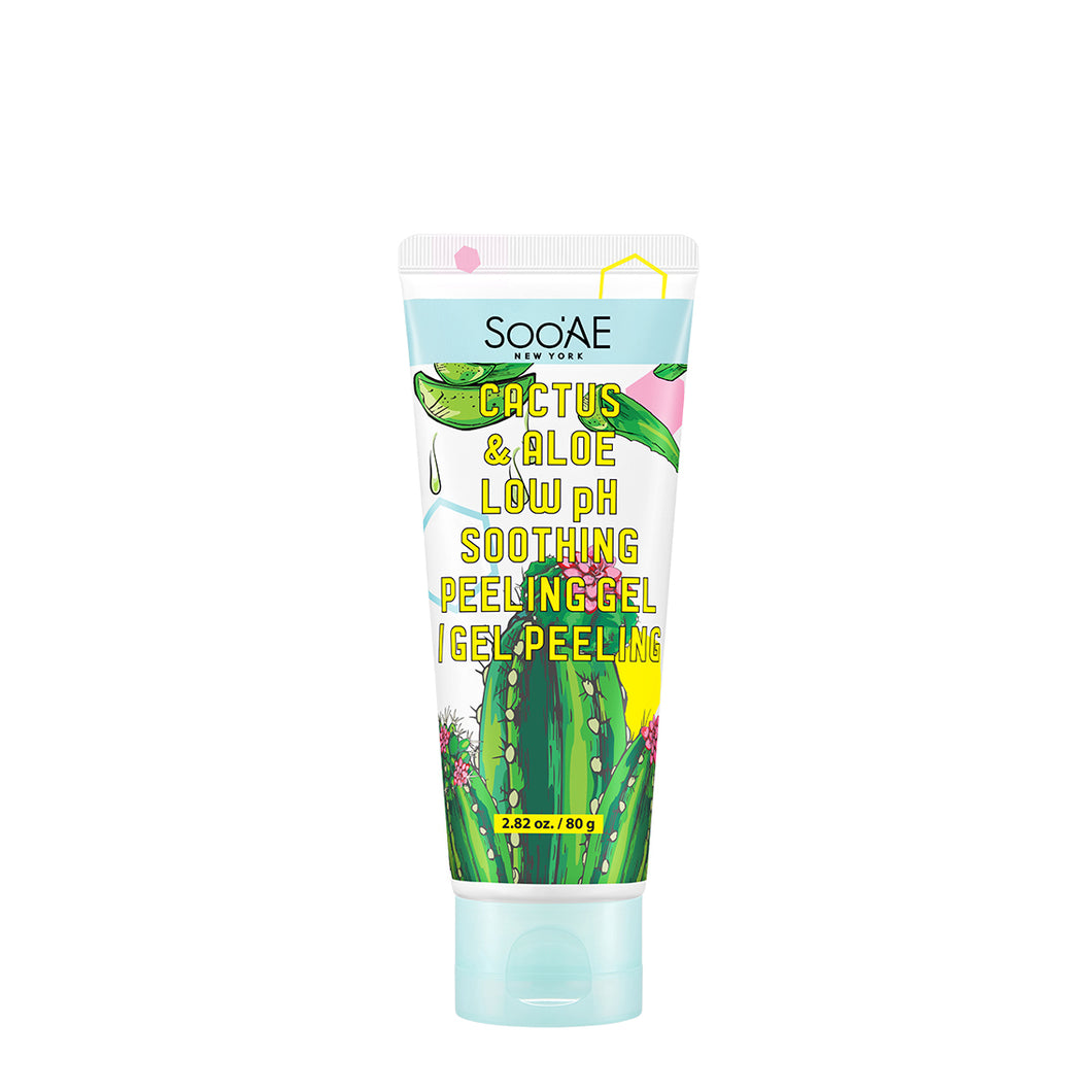 Soo'AE -  Cactus & Aloe Low pH Soothing Peeling Gel