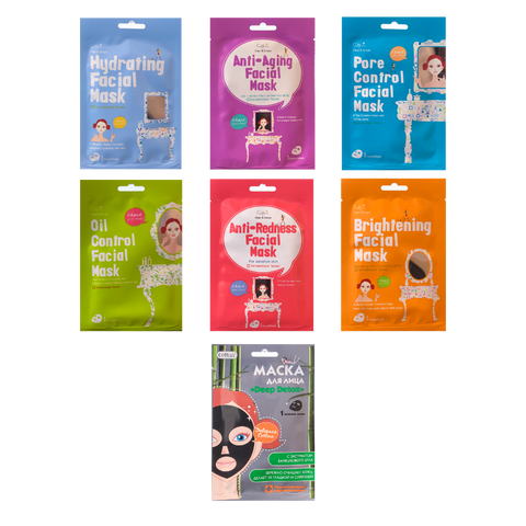 Cettua Facial Mask 7 Systems (KDeal 5+5)