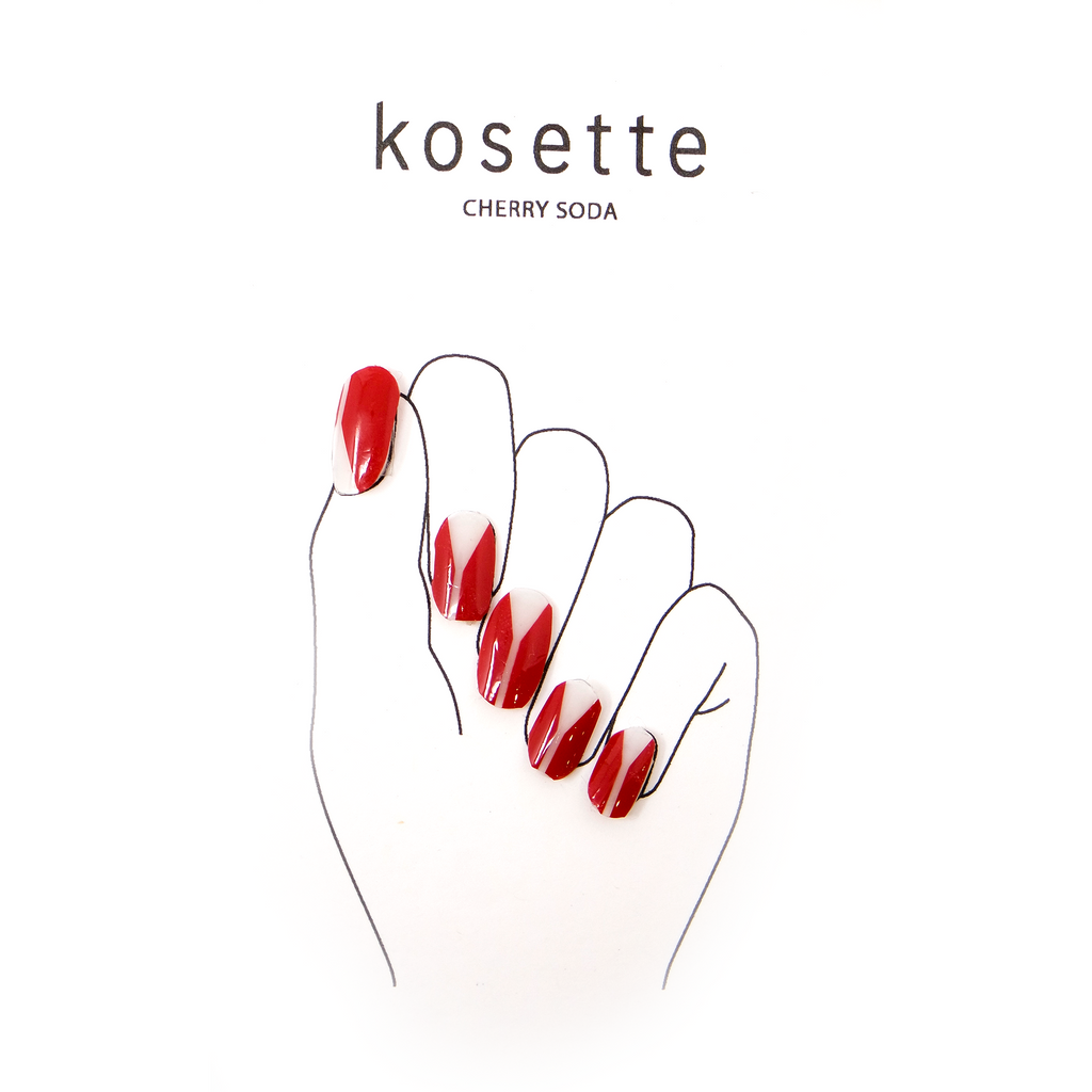 Kosette Gel Nail Sticker Cherry Soda