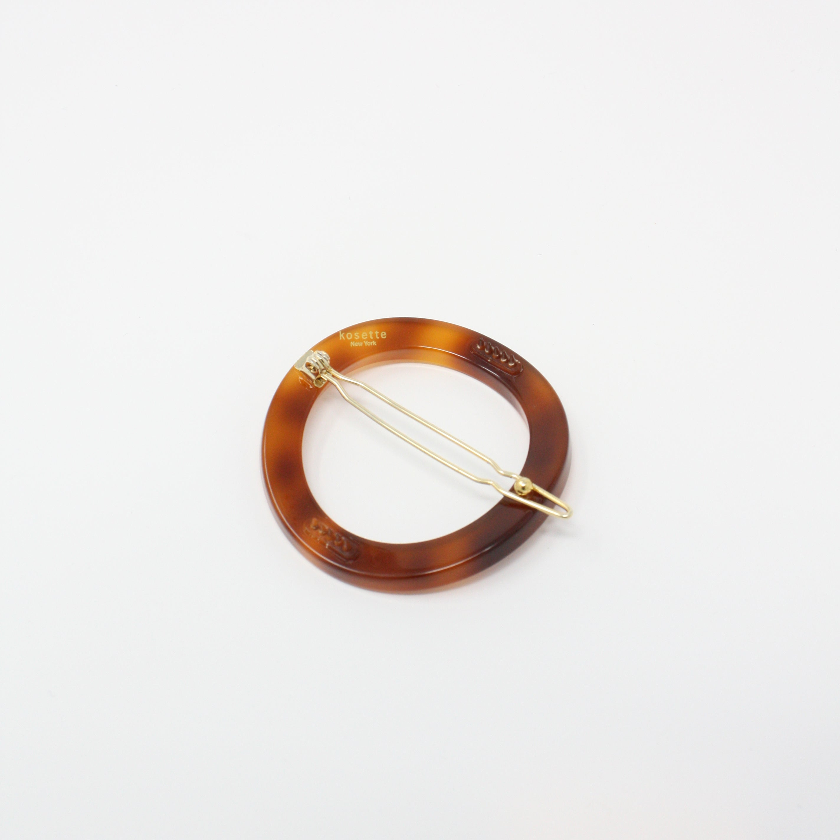 DESL035-0 - Circle Hair Barrette