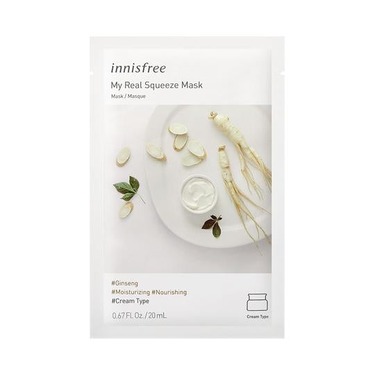 Innisfree - My Real Squeeze Mask  (Buy 5 Get 5 Free)