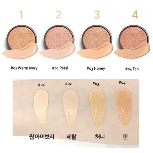 Holika Holika - Hard Cover Perfect Cushion SPF50+ PA++ (4 Colors)