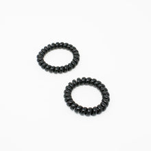 Load image into Gallery viewer, Kostte - Coil Hair Tie(Large) - Black 2pcs