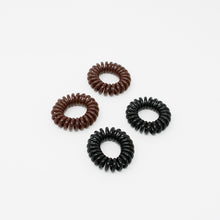 Load image into Gallery viewer, Kostte - Coil Hair Tie(Small) - Black + Brown 4pcs