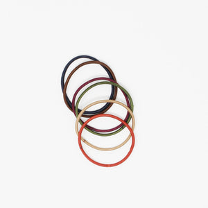 Kostte - Thin Hair Ties (Small) - Assorted Color