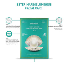 Load image into Gallery viewer, JMsolution - Marine Luminous Pearl Deep Moisture Mask (Buy 7 Get 3 Free - mix & match)