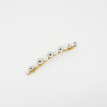 Load image into Gallery viewer, LFAC0338 - French Clip with Multi Pearl