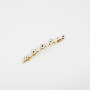 LFAC0338 - French Clip with Multi Pearl