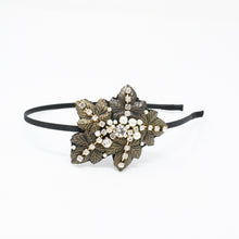 Load image into Gallery viewer, LFHB0474 - Leaf Headband with Pearl and Crystal Detail