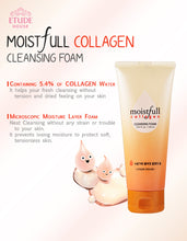 Load image into Gallery viewer, Etude House - Moistfull Collagen Cleansing Foam