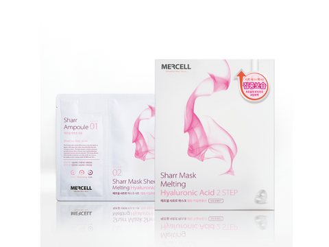 SHARRMASK Melting Hyaluronic acid Facial Mask (Pink)