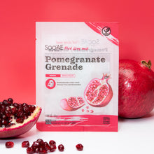 Load image into Gallery viewer, Soo'AE - Food Story Mask – Pomegranate (single)