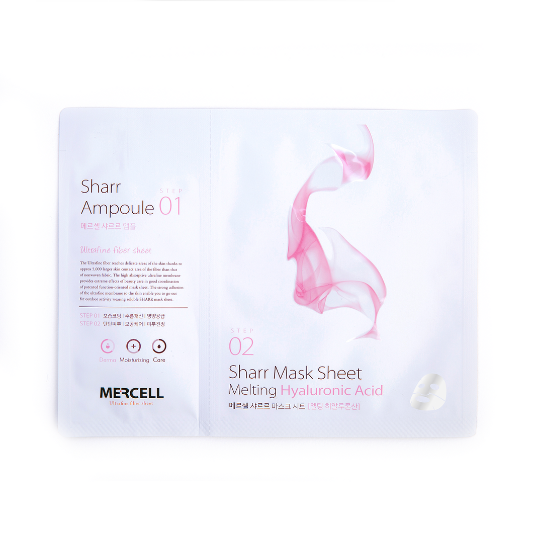 SHARRMASK - Melting Hyaluronic acid Facial Mask (Pink)