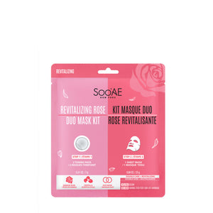 Soo'AE - Revitalizing Rose Duo Mask Kit (single)