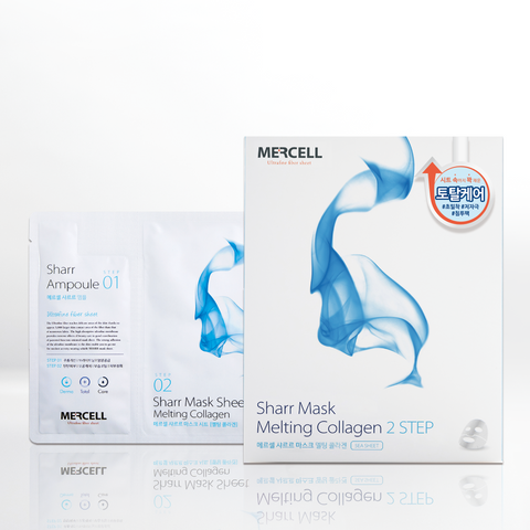 SHARRMASK Melting Collagen Total Care Facial Mask (Blue)