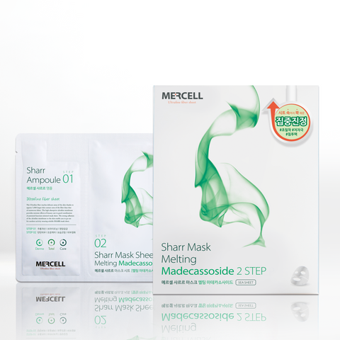 SHARRMASK Melting Madecassoside Facial Mask (Green)