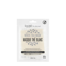 Load image into Gallery viewer, Soo'AE - Tea Story Mask – White Tea (single)