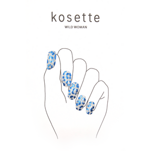 Kosette Gel Nail Sticker Wild Woman