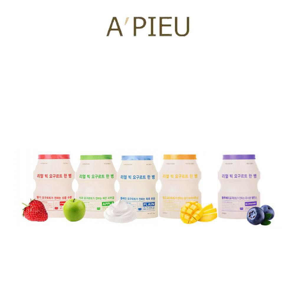 A'PIEU - Real Big Yogurt One-Bottle (5 Types)
