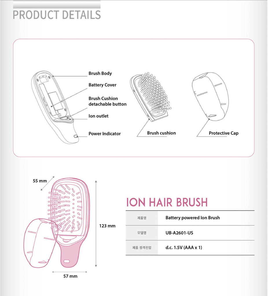 UNIX Ion Hair Brush