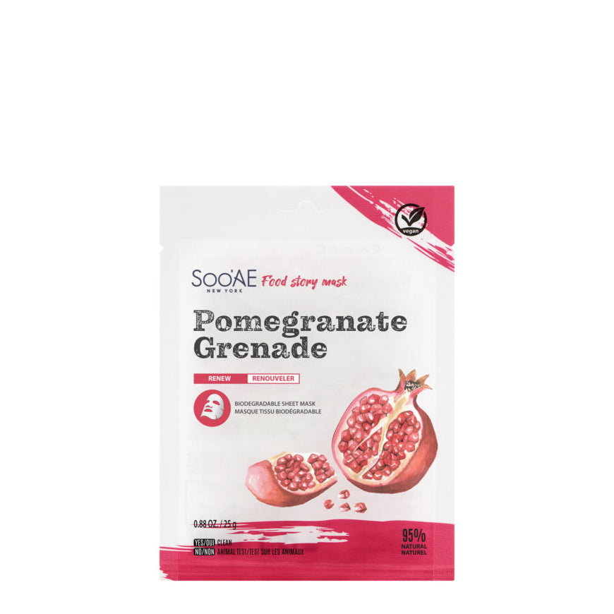 Soo'AE - Food Story Mask – Pomegranate (single)
