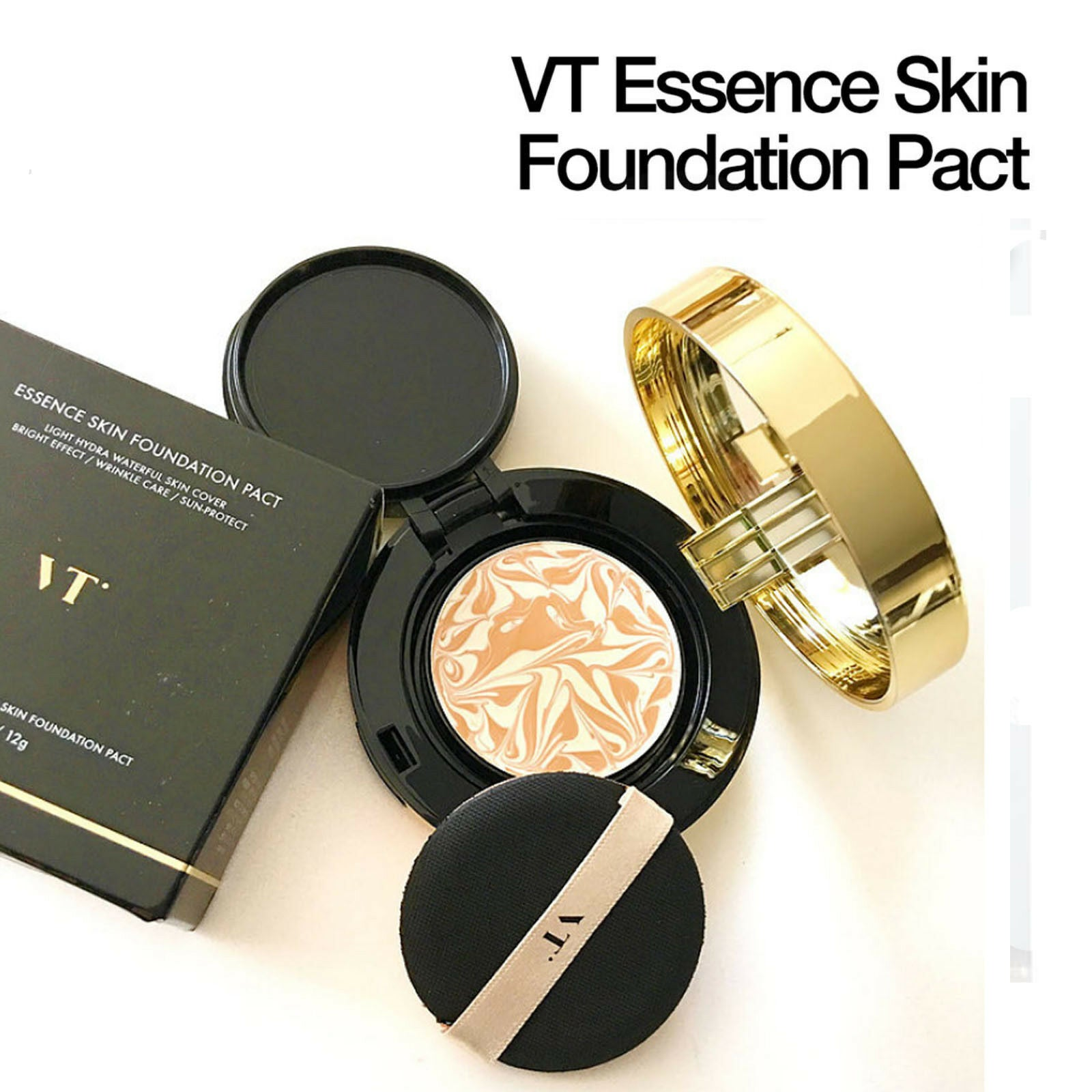 VT x BTS Essence Skin Foundation Pact #21 & #23