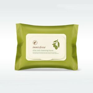 Innisfree - Olive Real Cleansing Tissue (30ea)