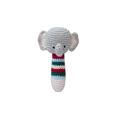 Crochet Elephant Rattle