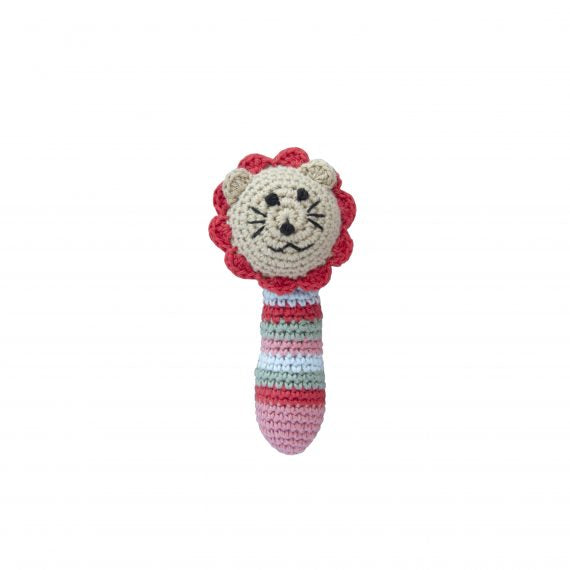 Crochet Lion Rattle