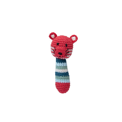 Crochet Tiger Rattle