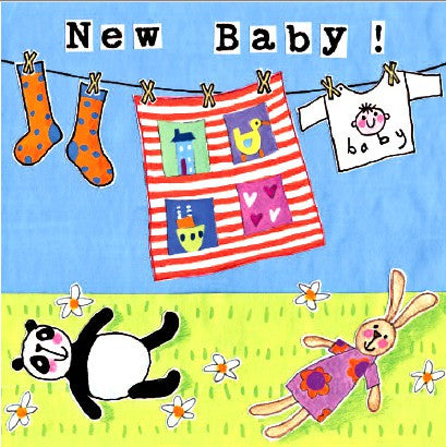 New Baby - Washing Line