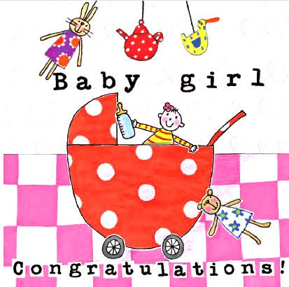 Baby Girl - Congratulations