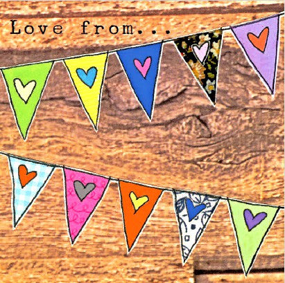 Love From.... Bunting