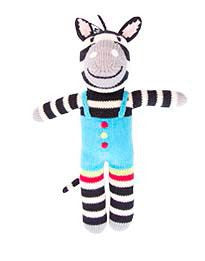 Knitted Zebra
