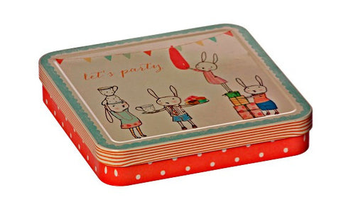 LET'S PARTY, ROSE METAL BOX