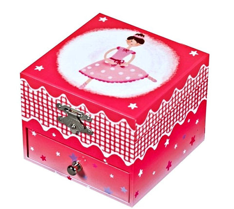 Musical Cube Box Ballerina