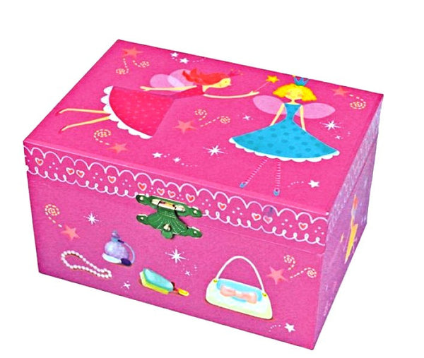 Musical box Fairies Pink
