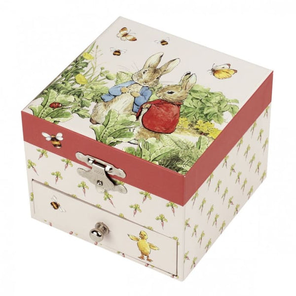 Musical Cube Box - Peter Rabbit with Carrot