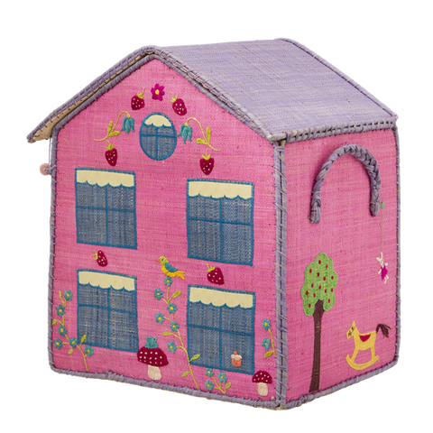 Storage Box - Pink House
