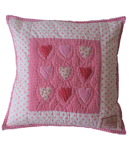 Heart - Pink Check - Temporarily out of stock