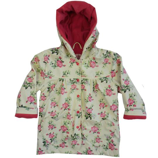 Raincoat - ROSE FLORAL Print