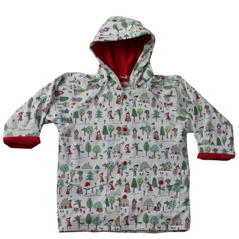 Raincoat - RED RIDING HOOD Print