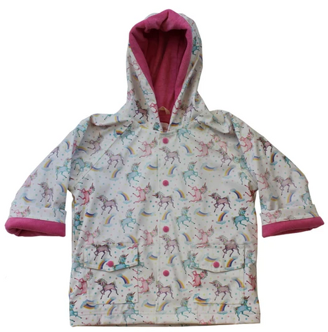 RAINCOAT- UNICORN Print