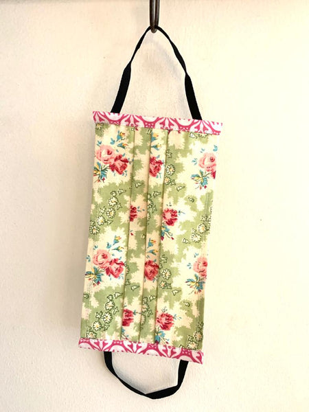 Face mask - Vintage Floral - size - Medium