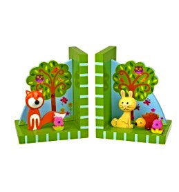 Woodland Bookends