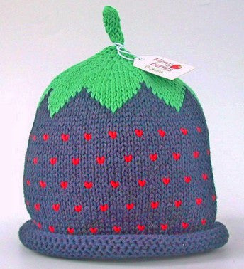 Blackberry Hat (Size - 3 to 6 months)