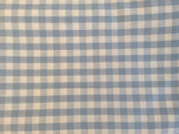 Pillow Case - Blue Check